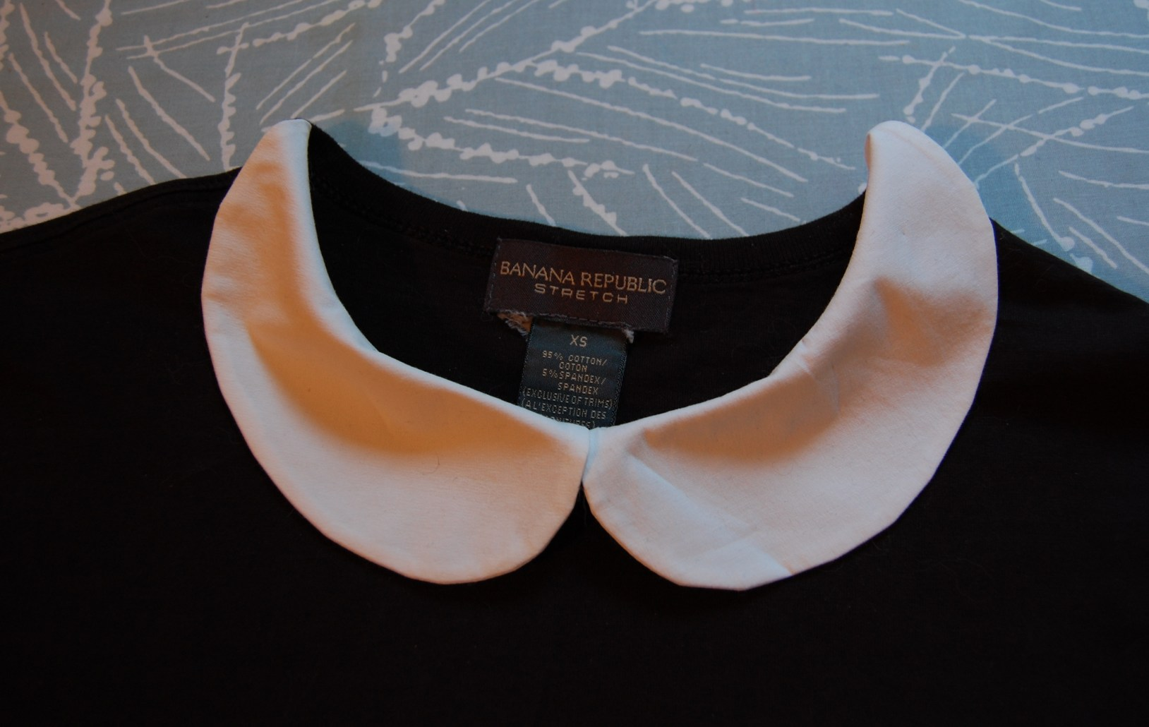 peter pan collar DIY tutorial
