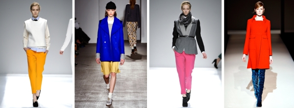 Fall Fashion 2011 Bright Colors
