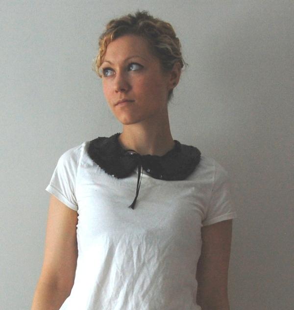 sequin collar DIY