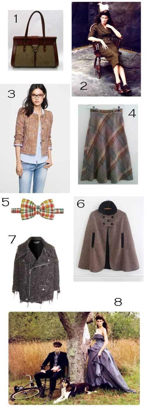 Tweed fall fashion inspiration