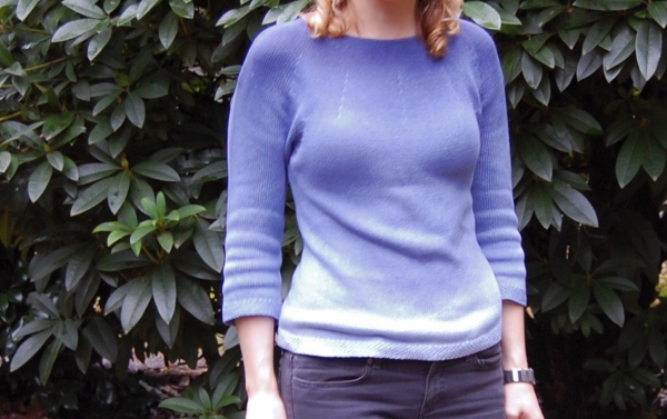 Dip dye sweater DIY tutorial