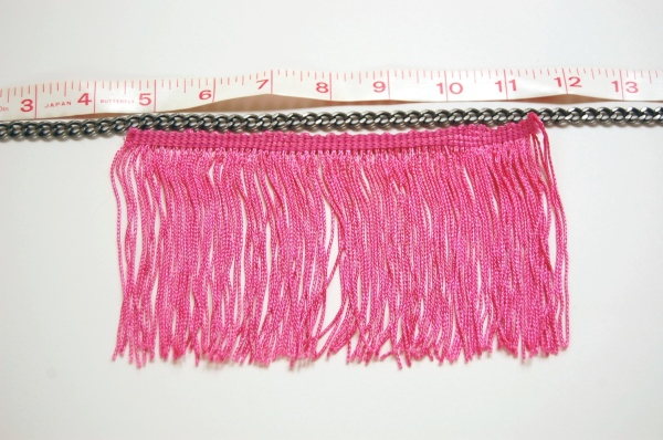 Missoni inspired fringe necklace tutorial DIY